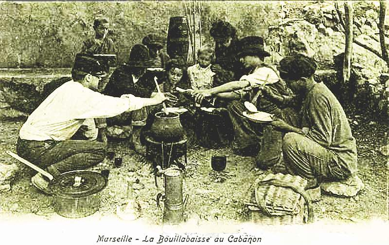 ouillabaisse making in marsielle
