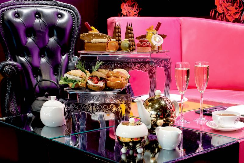 A display of Eric Lanlards finest dessert