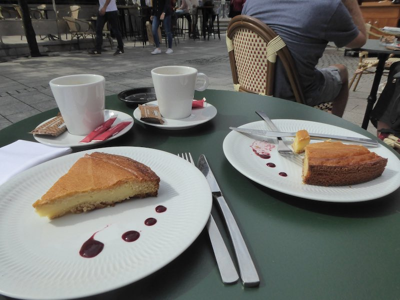 Gateau Basque stop, Biarritz