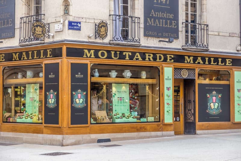 Maille boutique in Dijon, France