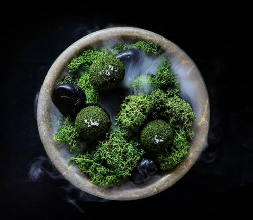 Beautiful green dish
