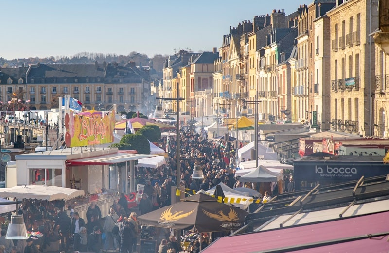 Dieppe scallop and herring festival