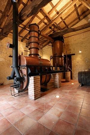 Armagnac distillery
