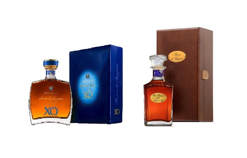 Bottle of Armagnacs