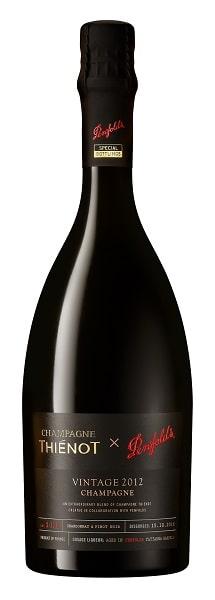 Hero Bottle Shot_Champagne Thienot x Penfolds Vintage 2012 Chardonnay Pinot Noir Cuvee