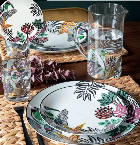 Toucan plates
