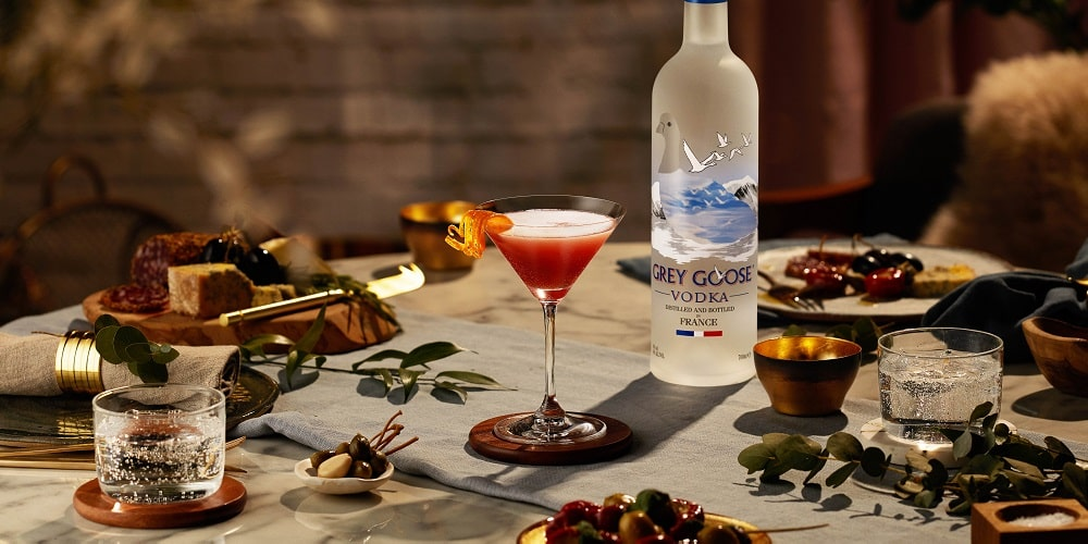 Grey Goose sip of the season cocktail