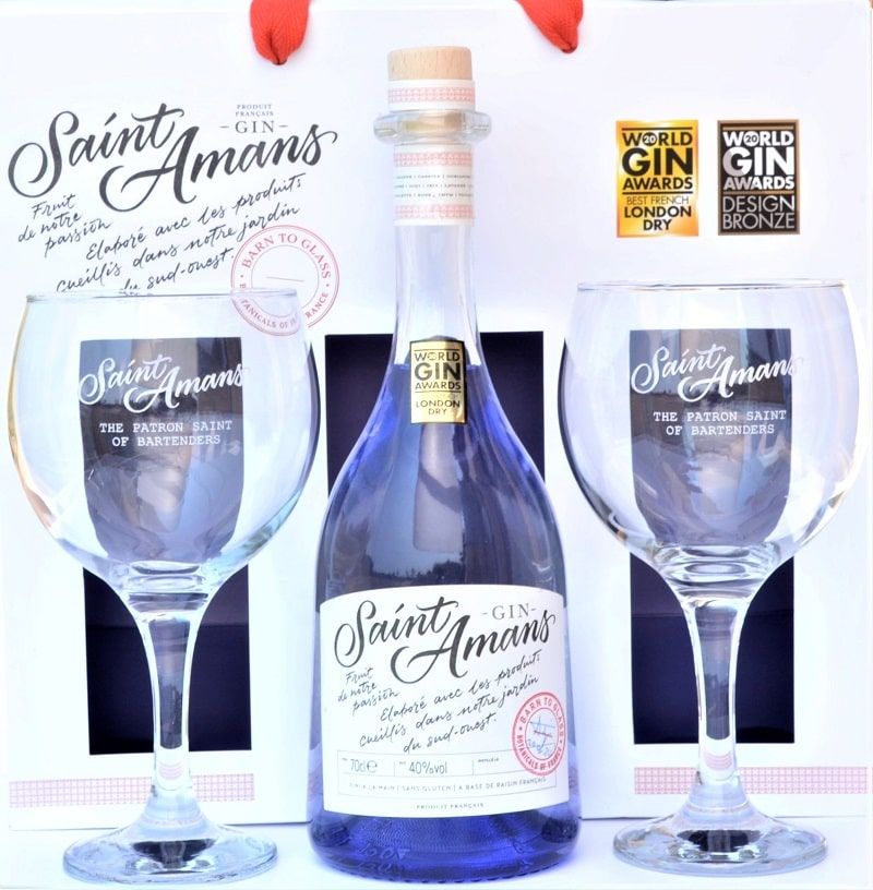 Gift Set Saint Amans Gin Original