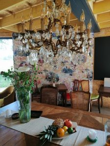 new restaurant in the Bercé Forest interior