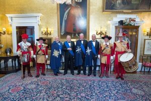 Creation of the British Squadron of Armagnac Musketeers in London at Armourers Hall
