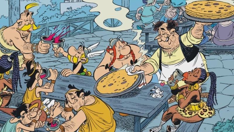 Eat like Asterix