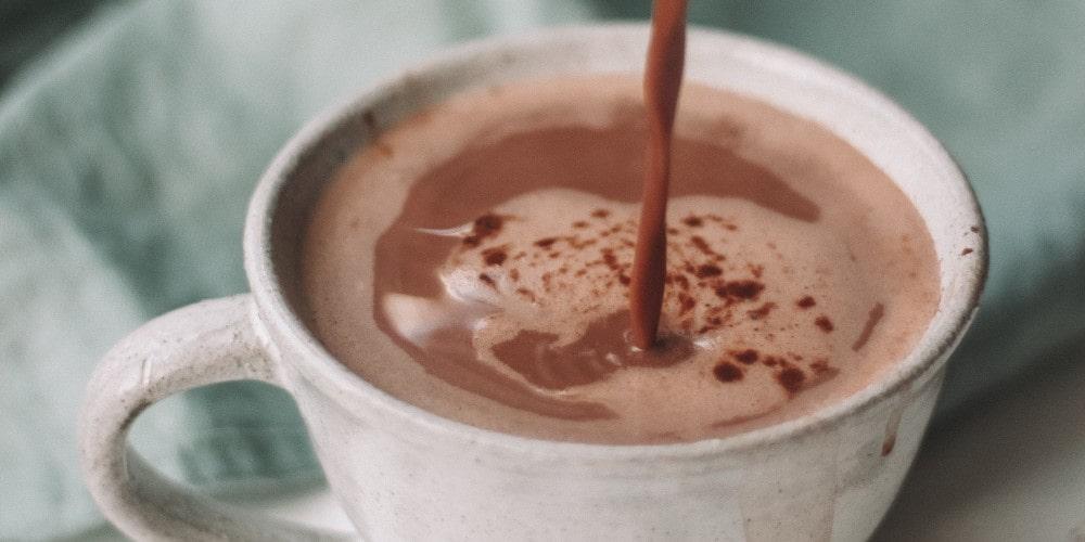Luxury French hot chocolate