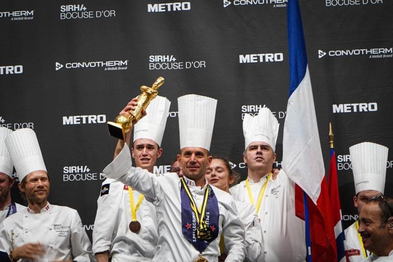 France's Davy Tissot wins the Bocuse d'Or 2021