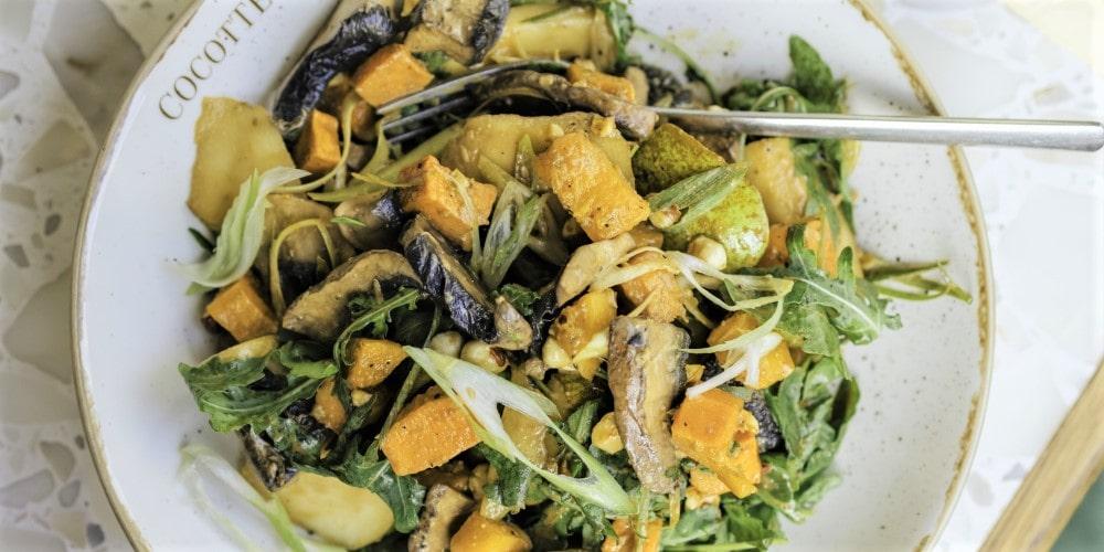 Romain's autumn salad